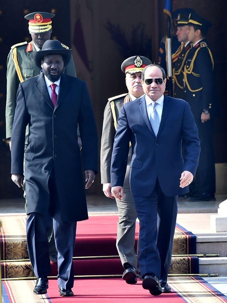 Kiir in Egypt to engage al-Sisi in bilateral talks