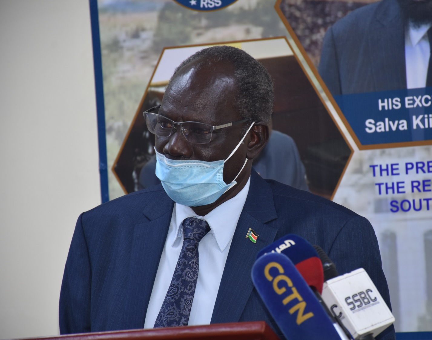 'Worried' Makuei urges urgent support for flood victims