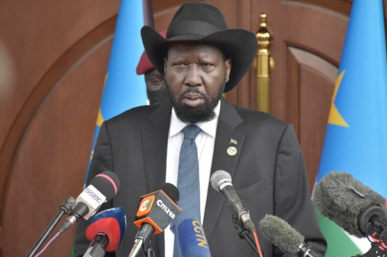 The five VPs diluted my powers- President Kiir
