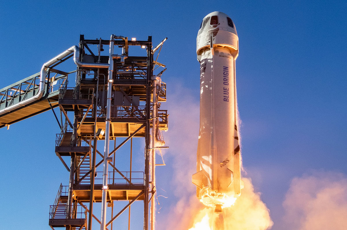 Blue Origin and the age of billionaire joyrides to space
