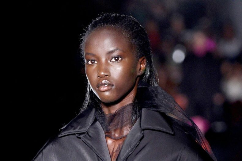 Anok Yai: From refugee to world's most beautiful model