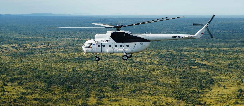 Peace monitors fly to Tombura County