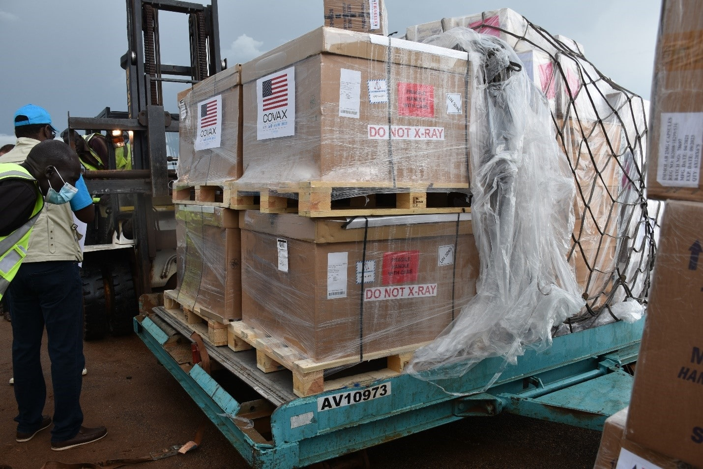 South Sudan receives 152,200 doses of Johnson & Johnson