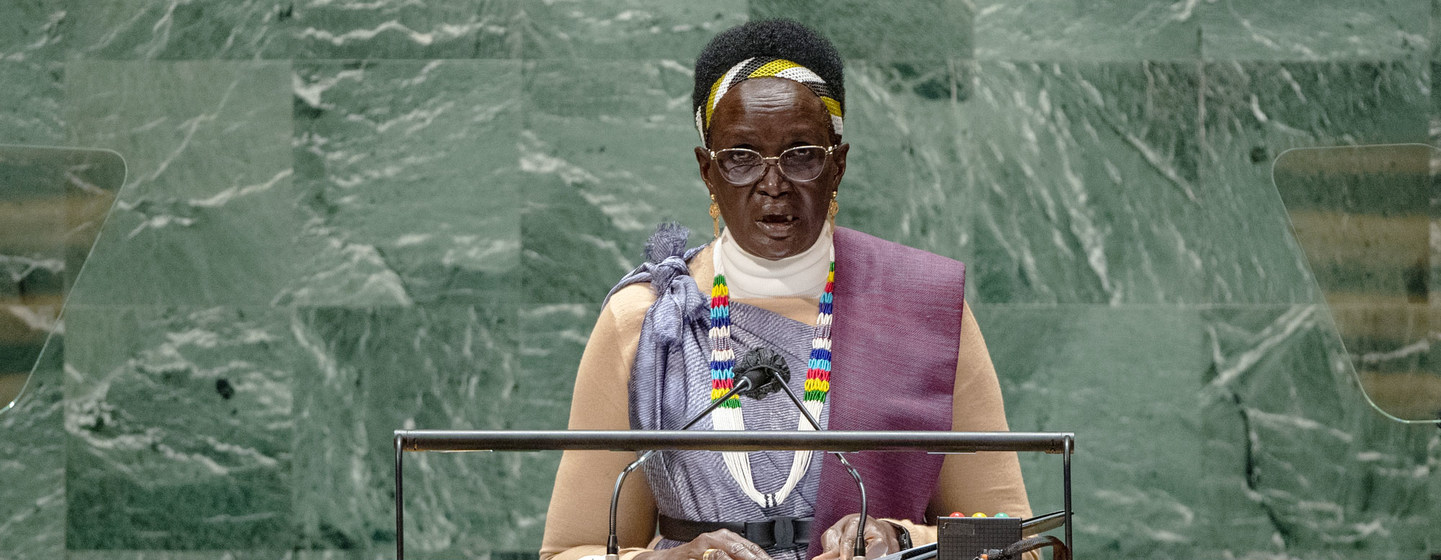 Full Text | VP Nyandeng speech at 76th session of UNGA