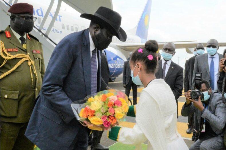 Kiir flies to Ethiopia for Abiy's inauguration