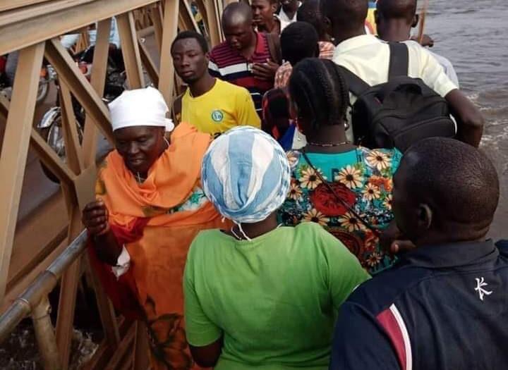 Juba Bridge renovation subjects pedestrians to dangers