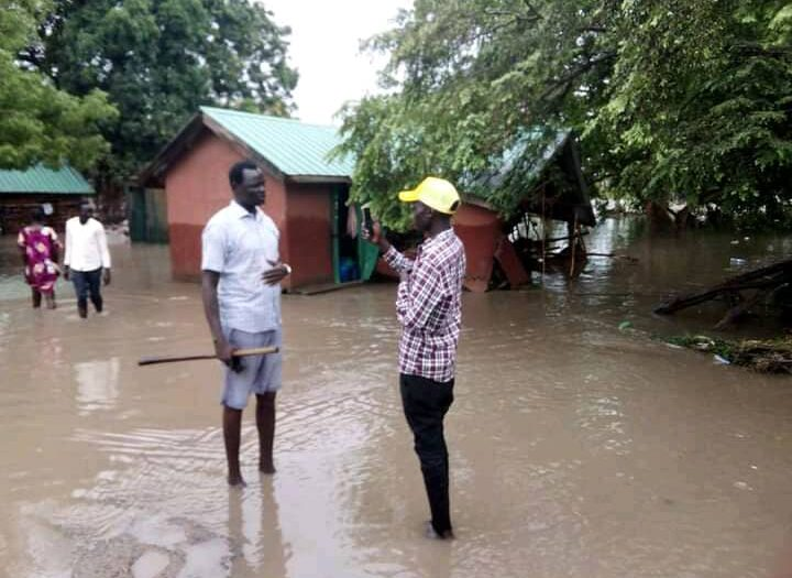 One killed, hundreds displaced as floods hit Juba